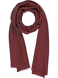 a4a42fdc7f8b Made dans Kashmir  Cachemire Ressentir Écharpes Hiver 18-19 La laine Soie  Mélange Épais