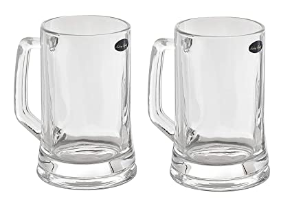 amazon com amlong crystal lead free beer mug 12 oz right for 1