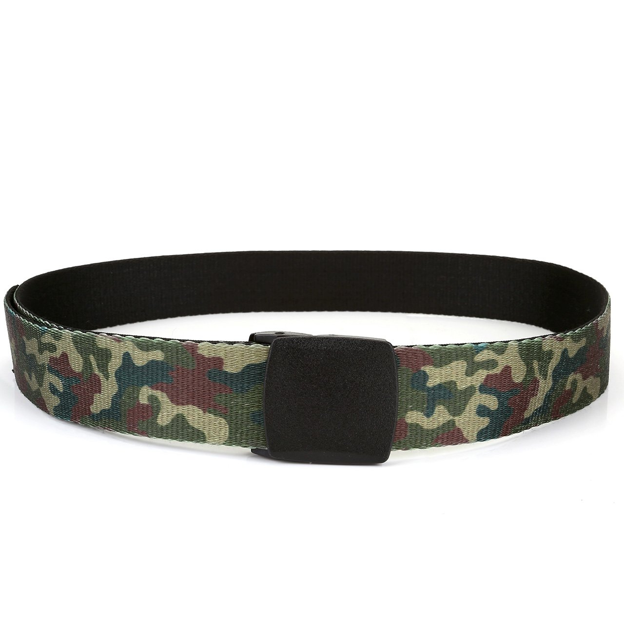 Faleto Nylon Canvas Breathable Military Tactical Men Waist Belt With Plastic Buckle