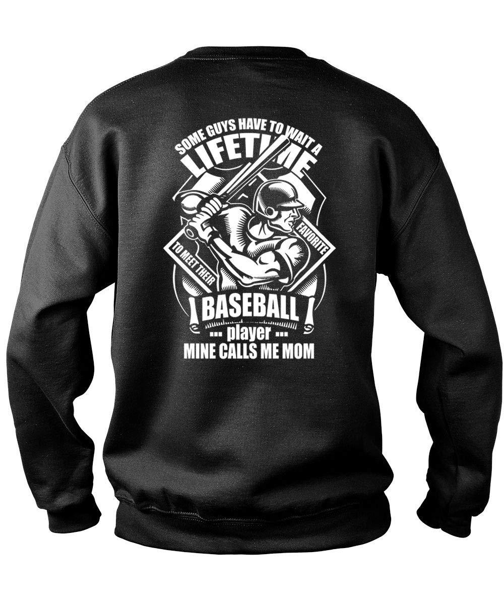 Meet Their Favorite Baseball Player S Mine Calls Me Mom T Shirt