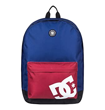DC Shoes Backstack, Mochila Mediana para Hombre, Azul (Sodalite Blue/Solid), One size: DC Shoes: Amazon.es: Deportes y aire libre