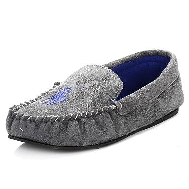 Slipper moccasin shoe man homewear POLO RALPH LAUREN item DEZI MOCCASIN