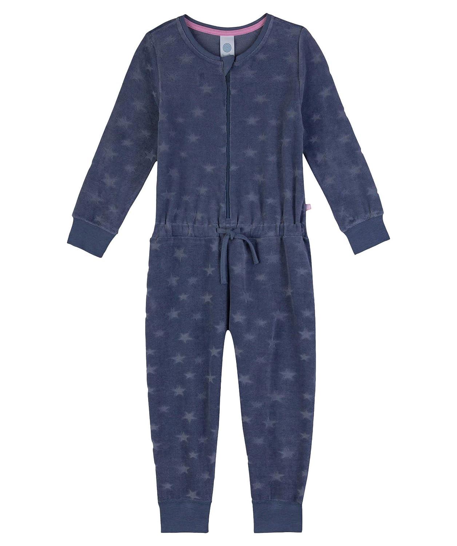 Sanetta M/ädchen Einteiliger Schlafanzug Jumpsuit Long