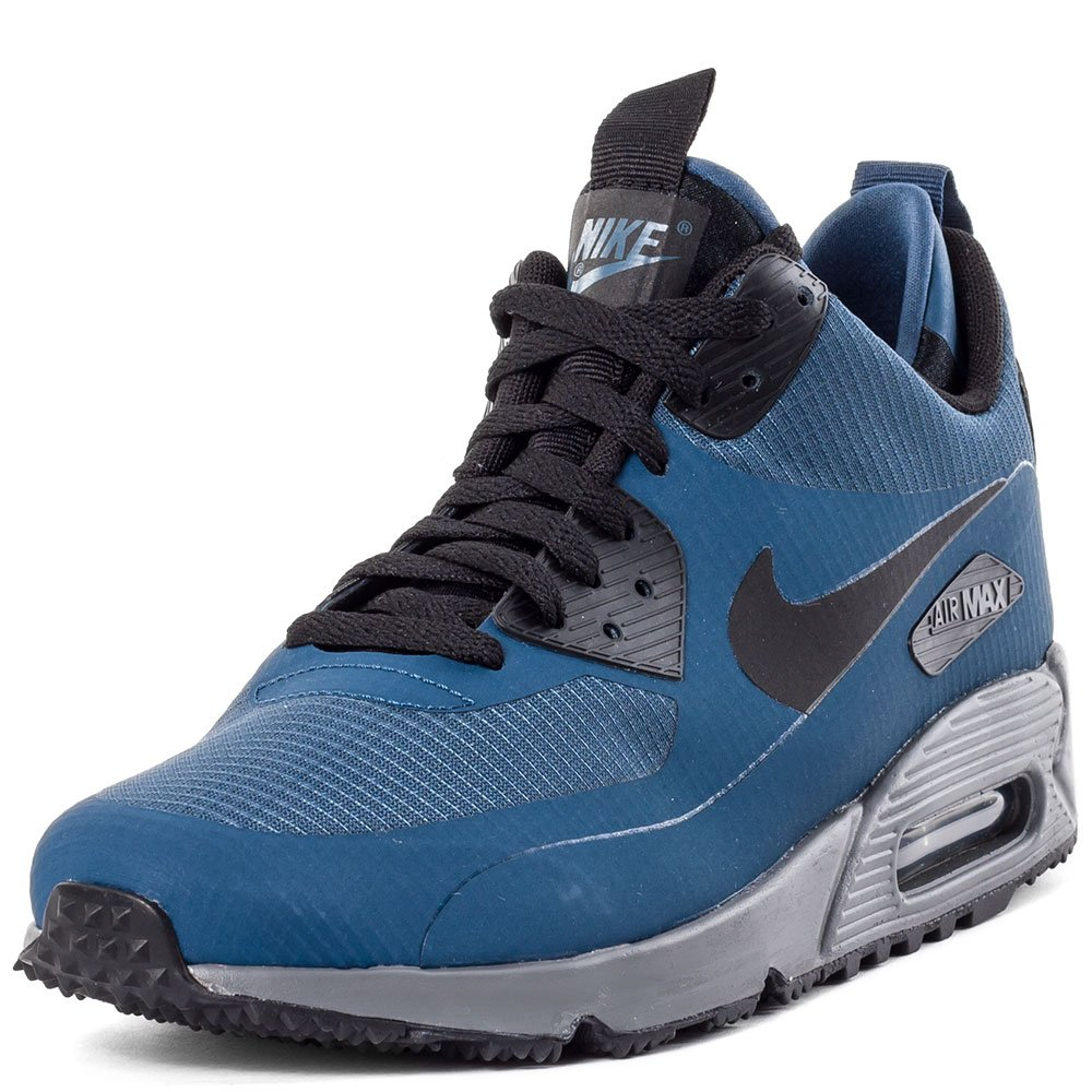 premium selection 17675 467ac Nike Air Max 90 Mid Winter 806808-400 Squadron Blue Dark Grey Bright  Citrus Black Sz 11.5  Amazon.co.uk  Shoes   Bags