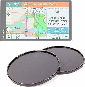 DURAGADGET Pack De 2 Discos Adhesivos para GPS Garmin DriveSmart ...