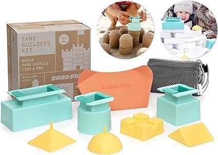 4 Pcs Mini Baby Children Kids Toy Beach Seaside Model Castle Sand Gift Favor Y