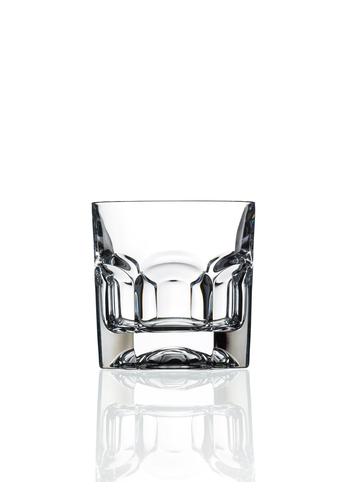 RCR Provenza Crystal Short Whisky Water Tumblers Glasses, 6.5oz, Set of 6