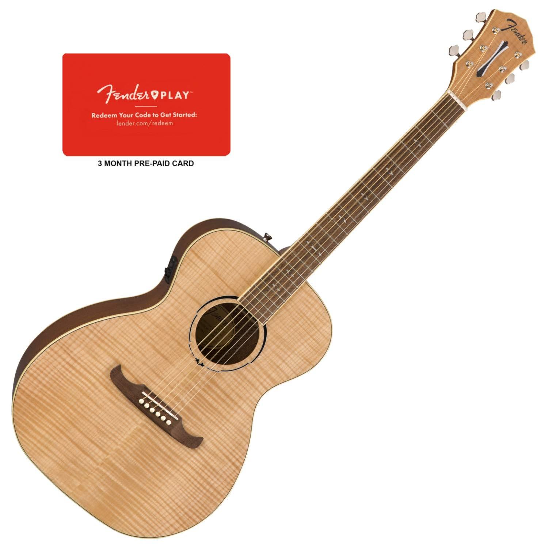 Fender 0961252021 fa-235e concerto chitarra elettrica naturale acustica
