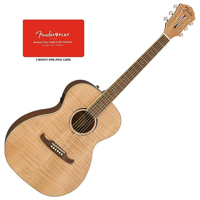 Fender 0961252021 FA-235E - Guitarra eléctrica acústica (tamaño de ...