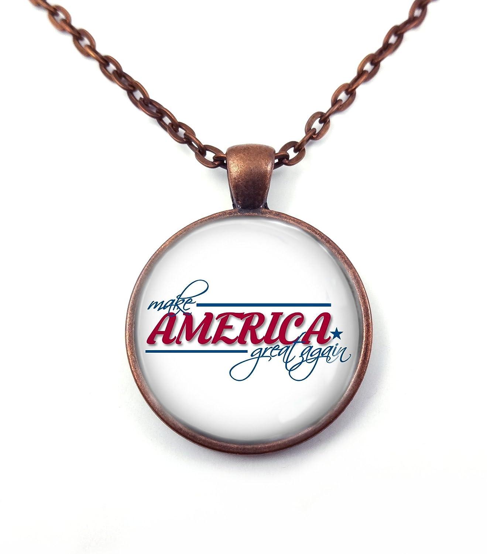 Make America Great Again Collar o llavero colgante ...