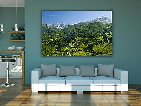 Cuadro PVC Impresión Digital Covadonga Asturias 200 x 60 cm ...