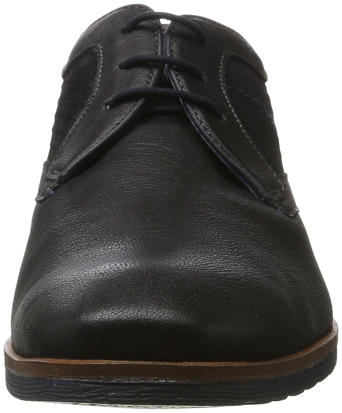 311374014030-1010 Bugatti Men Lace-Up Shoes Black, Black//Black