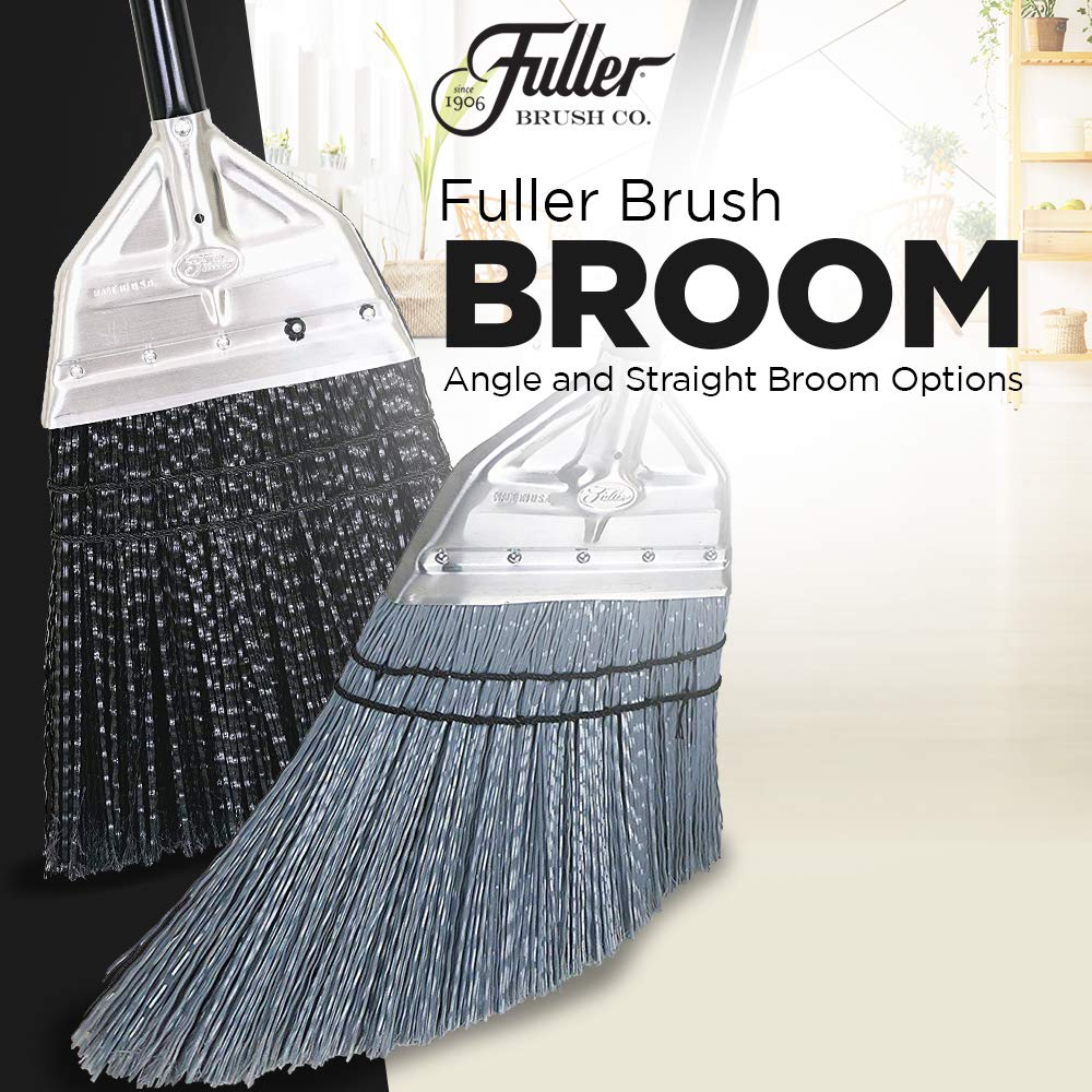 Fuller Brush Broom - Premium Grade Heavy Duty Straight Surface Sweeper w/ Chemical & Grease Proof Bristles For Sweeping All Floor Types Indoor & Outdoor by Fuller Brush (Image #4)