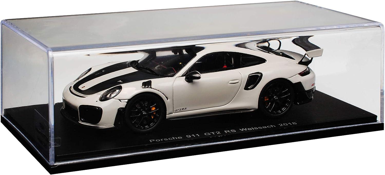 Spark Porsche 911 991 II GT2 RS Grau Weissach Package Modell ab 2012 Ab Facelift 2015 1//43 Modell Auto mit individiuellem Wunschkennzeichen