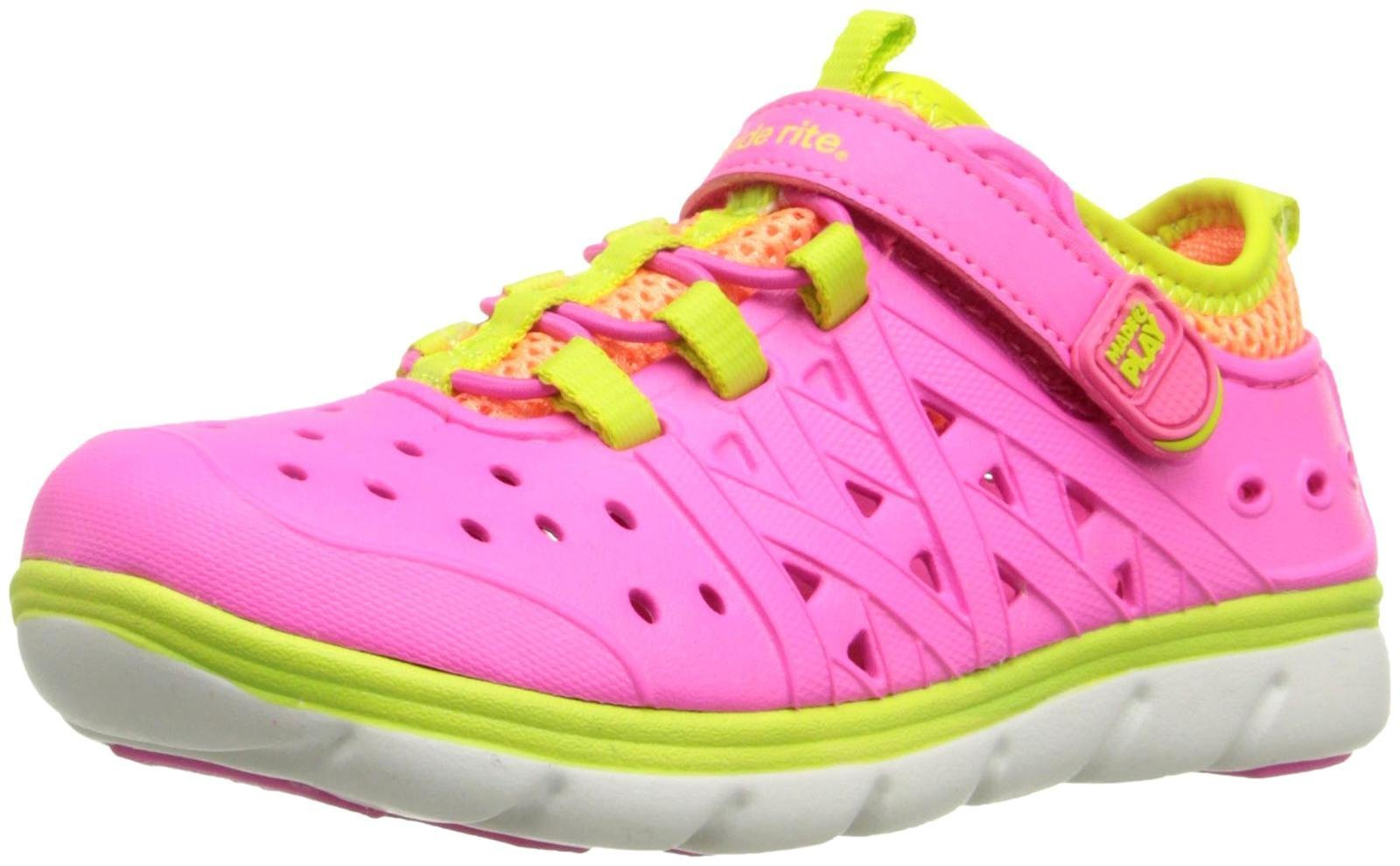 Stride Rite Girls' Made 2 Play Phibian (Toddler/Little Kid), Pink, 10 M by Stride Rite (Image #1)