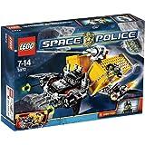 LEGO - 5972 - Jeu de construction - Space Police - Le vol du canon de la police