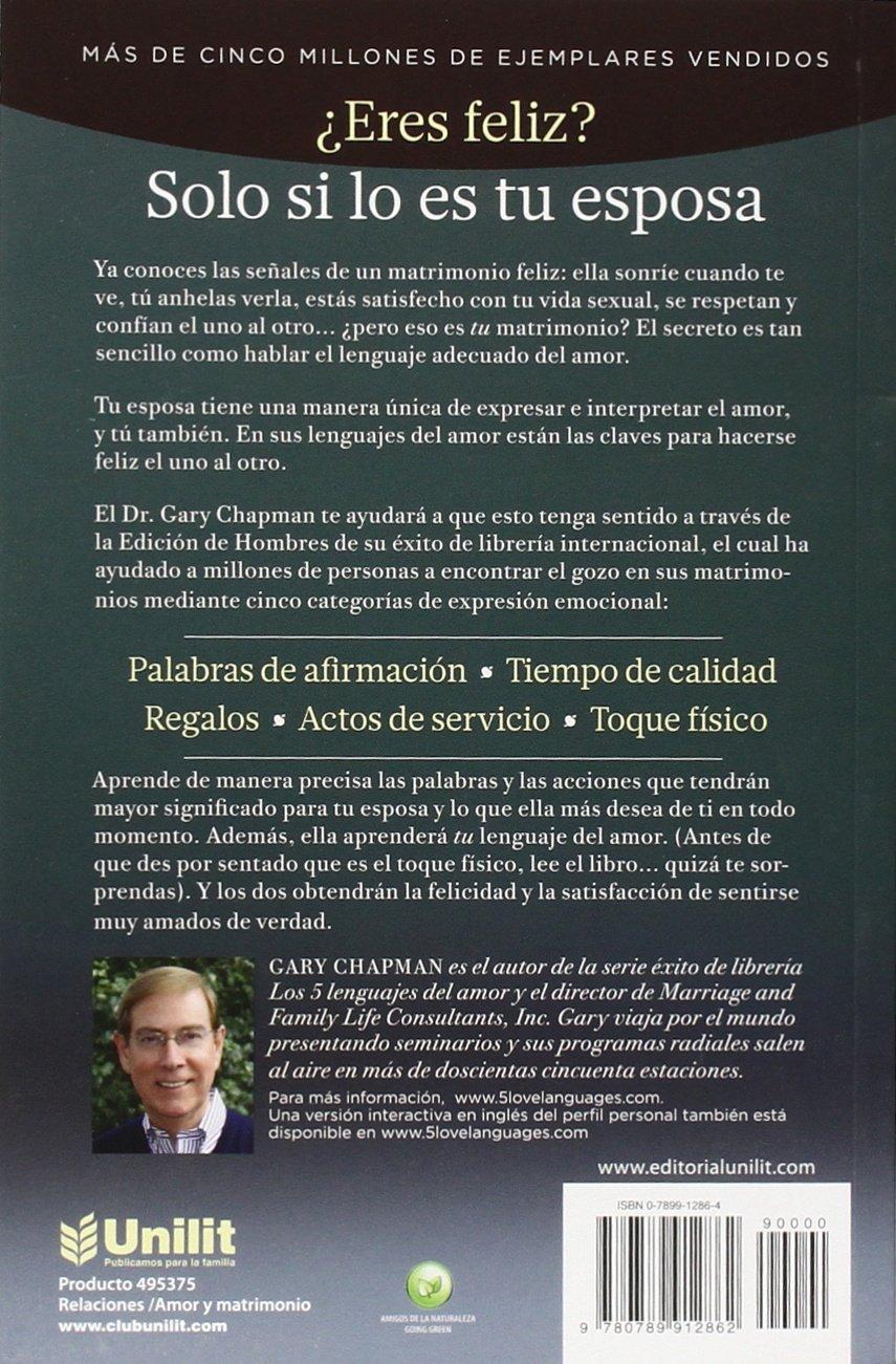 Los cinco lenguajes del amor edici n para hombres amazon es gary chapman libros