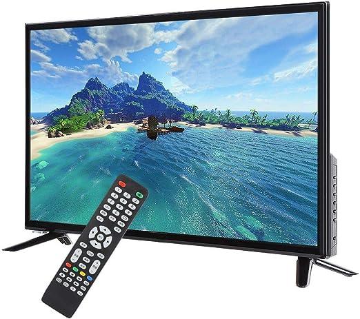 32 Pulgadas HD LCD TV Inteligente 1366 * 768 Televisor Ultra Estrecho Bisel Soporte Conversión HDR en Tiempo Real, USB HDMI RF Entrada de Antena,110-240 V Negro(UE): Amazon.es: Electrónica