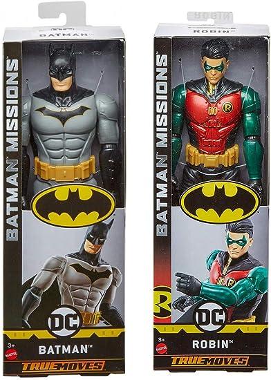 Batman Missions True-Moves Robin Figure