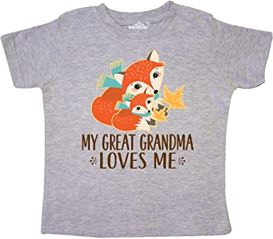 inktastic My Great Grandma Loves Me with Bunny and Toddler Long Sleeve T-Shirt
