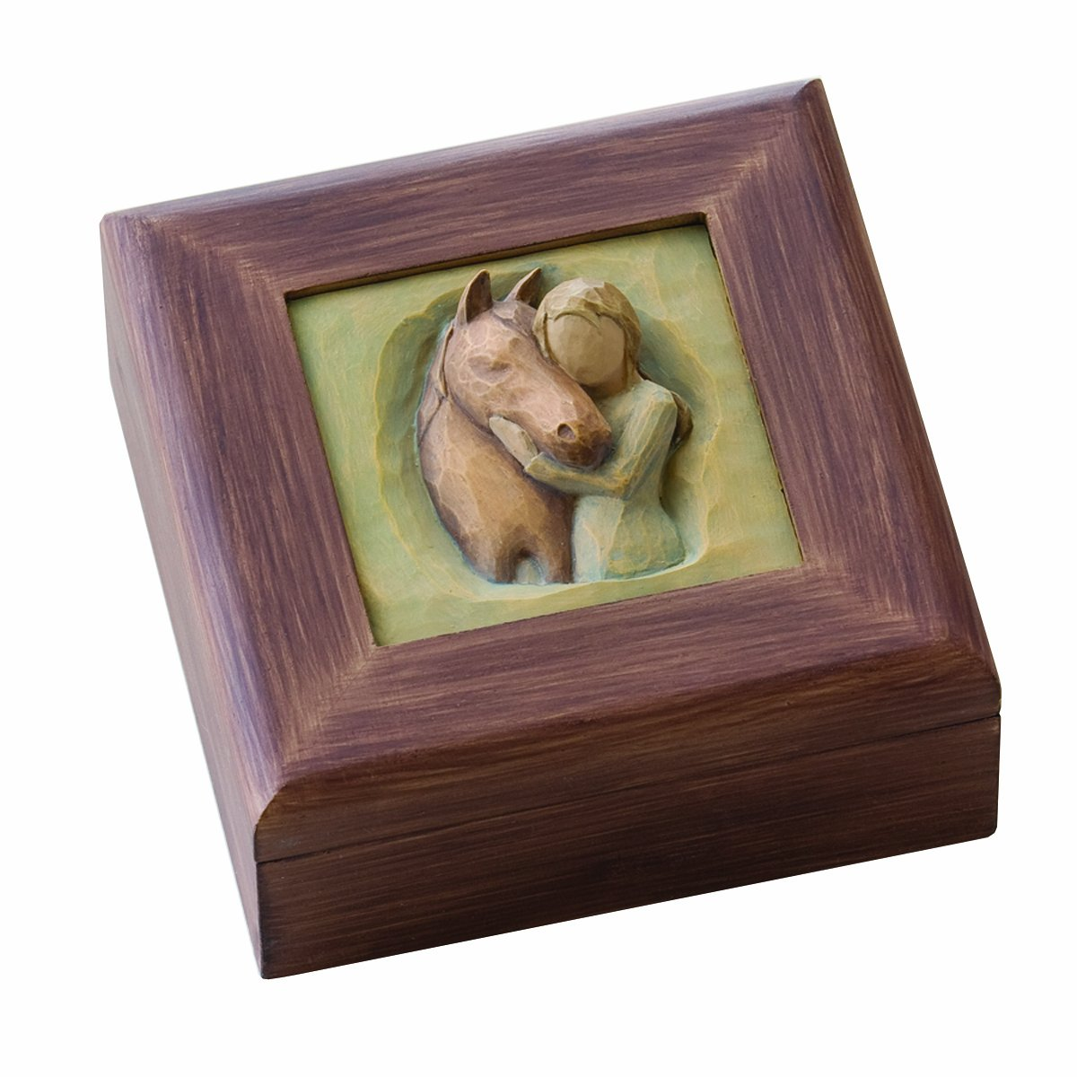 Demdaco Willow Tree Memory Box, Quiet Strength