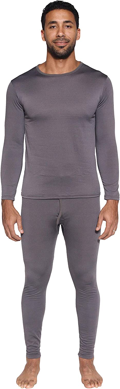 Thermal Underwear for Men Long Sleeve Top /& Bottom Fleece Lined Long Johns for Men 2 Mens Thermal Sets