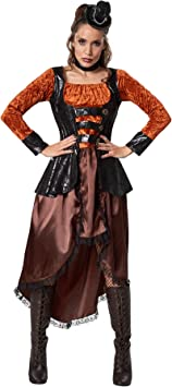 dressforfun 900488 - Disfraz de Mujer Princesa Steampunk, Falda ...