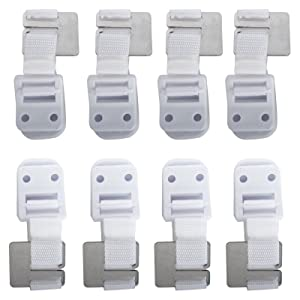 Safety 1st Furniture Wall Straps, 8 Count