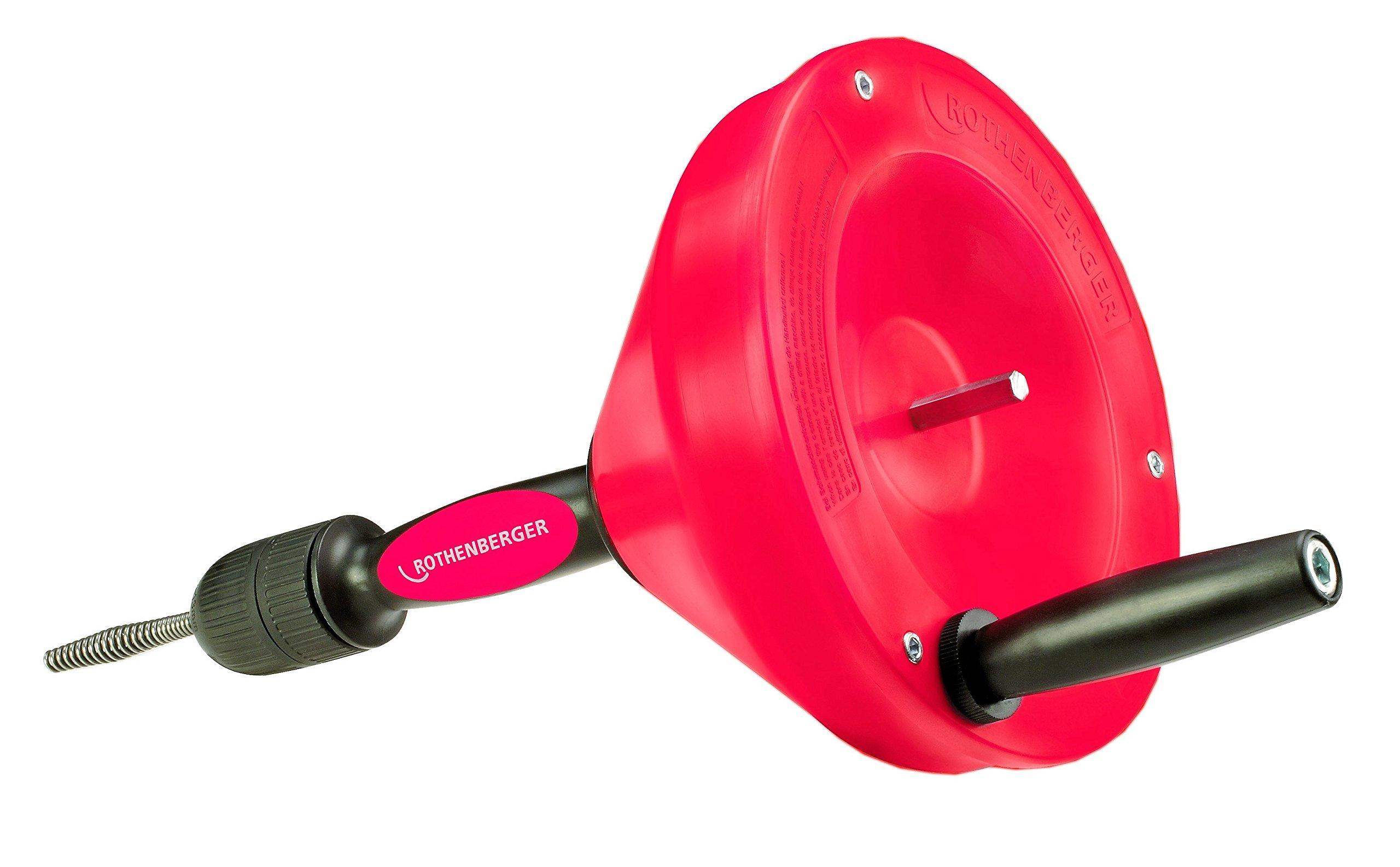 ROTHENBERGER 72095 - Desatascador manual plus espiral 8 mmx7,5 m