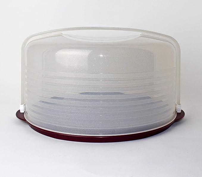 Tupperware C97 Wiener Walzer Brombeere Glitzer Kuchenform für Kuchen/Torten Tortenbehälter