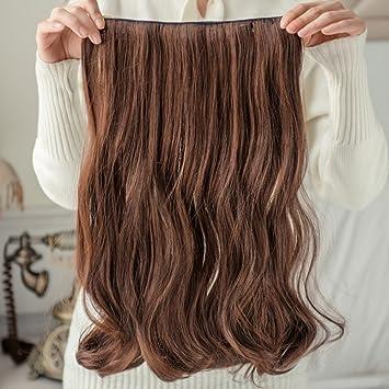 Pelucas pelo largo y rizado peluca pelo rizado invisible invisible onda grande rizado cabello en la