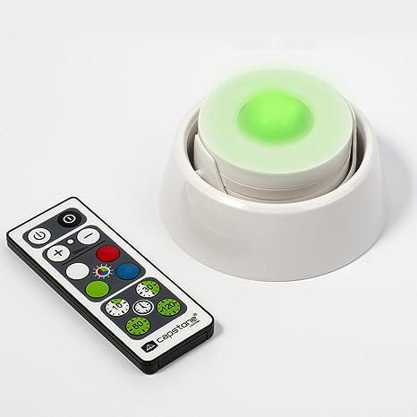 Capstone 5 DEL PUCK Lights-Télécommande-Batteries armoire armoire lumière