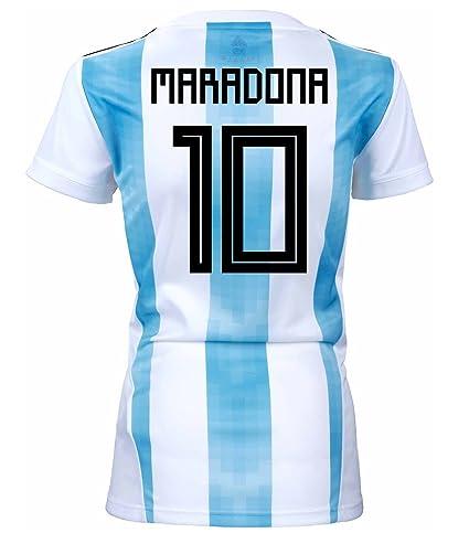 f43e88853 adidas Maradona  10 Argentina Home Women s Soccer Jersey World Cup Russia  2018 ...