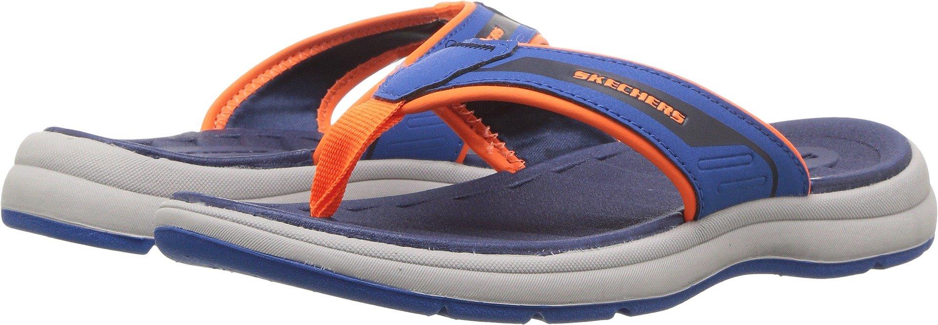 Skechers Kids Sun Sport - Beach Season Blue/Navy Sandal 13 Kids US
