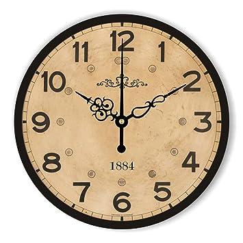Reloj de pared decorativo silencioso grande de la decoración casera moderna del reloj Diseño de pared