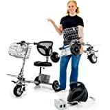 SmartScoot Lithium, Lightweight, Foldable Travel Electric Scooter by SMARTSCOOT