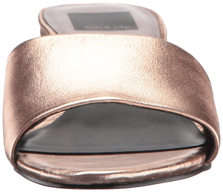 Dolce Vita Women's Rilee Slide Sandal B071X5QLFJ 7 B(M) US|Rose Gold Leather