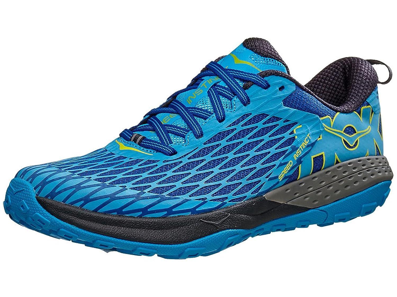 Hoka One Oneメンズ速度Instinct Trueブルー、ドレスデンブルーTrail Running Shoes (10 US サイズ: 10 D(M) US カラー: ブルー B01AXPMWS4