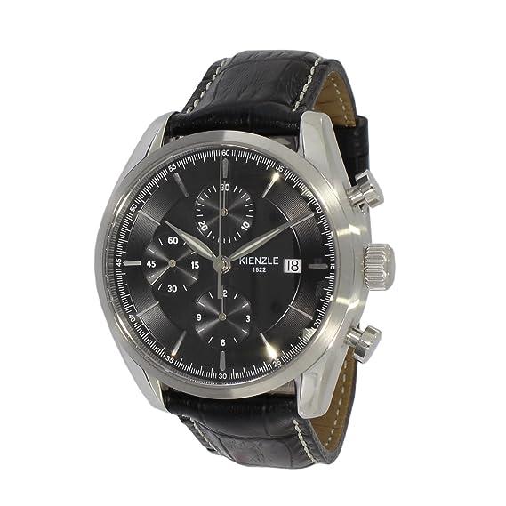 Kienzle 1822 Superia ETA 7750 automático para hombre reloj de pulsera, cronógrafo, fecha, 5 Bar, K17 - 00421: Amazon.es: Relojes