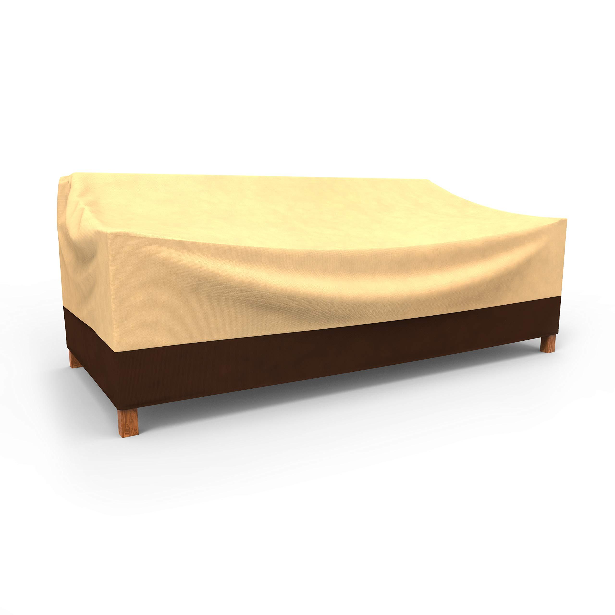 EmpirePatio Classic Outdoor Sofa Cover Extra Extra Large - Khaki Brown