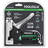 TOOLZILLA® Heavy Duty Staple Gun & 600 Staple Selection Pack