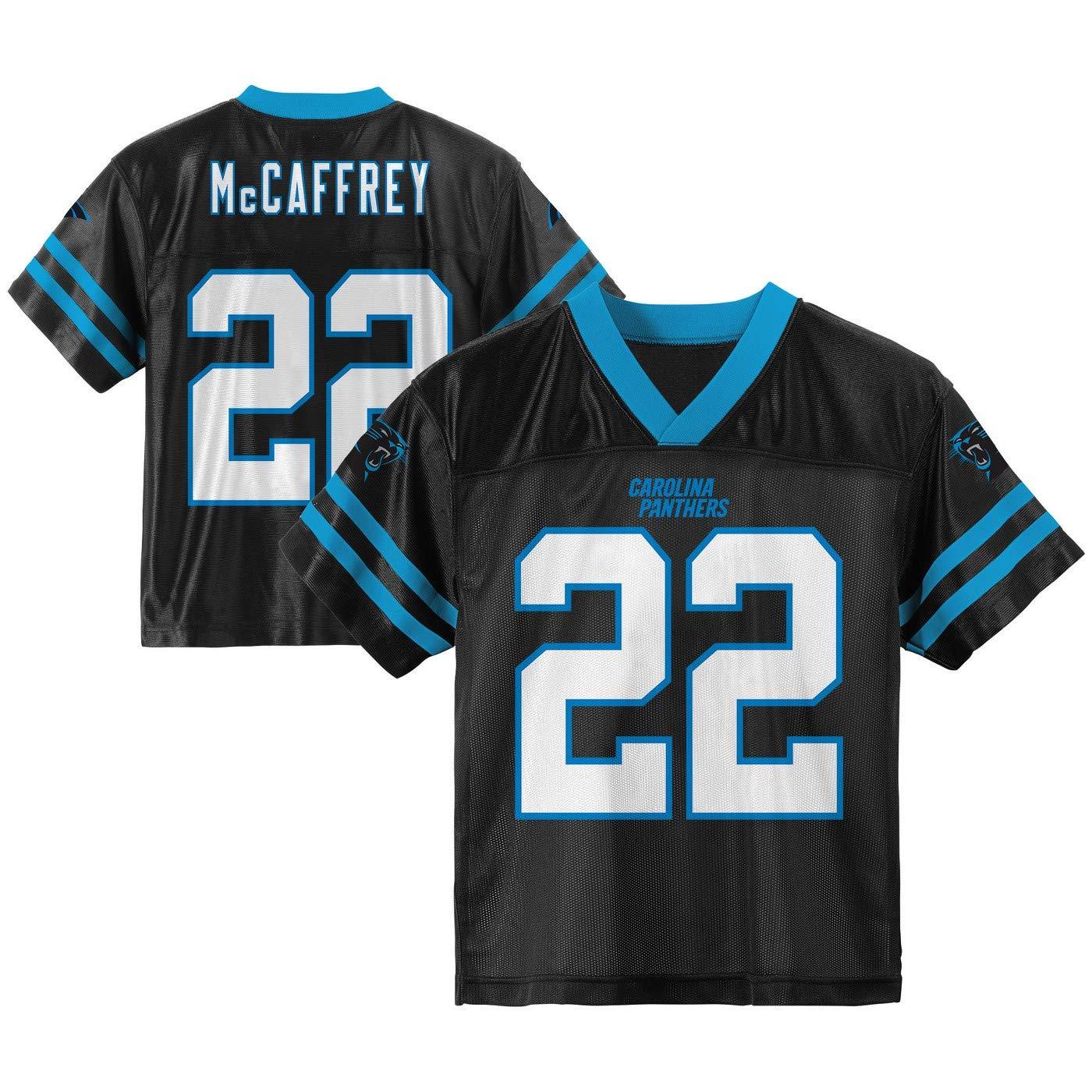 outlet store 8f0d1 e5d5a Outerstuff Christian McCaffrey Carolina Panthers #22 Black Toddler Home  Player Jersey