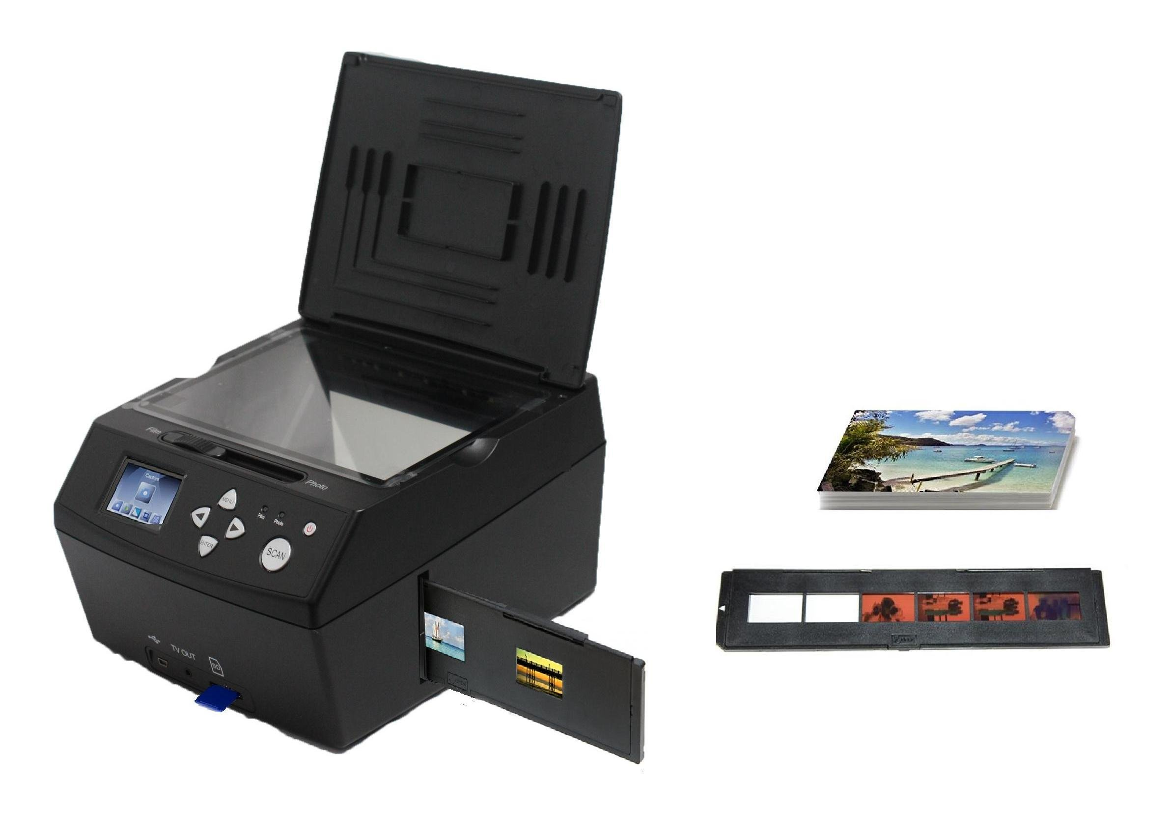 Introducing the latest SVP Model PS6800 4GB Digital Photo / Negative Films / Slides Scanner with built-in 2.4'' LCD Screen
