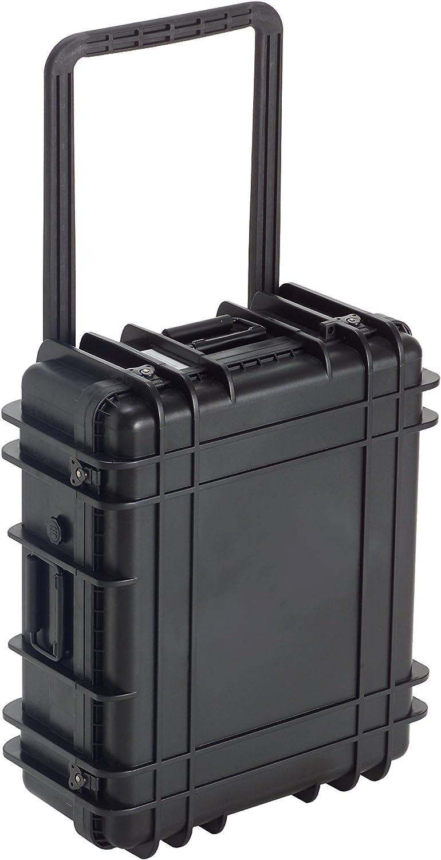 Underwater kinetics 3662-822 loadout maleta, resistente al agua, con rodillo, espuma, negro, 0