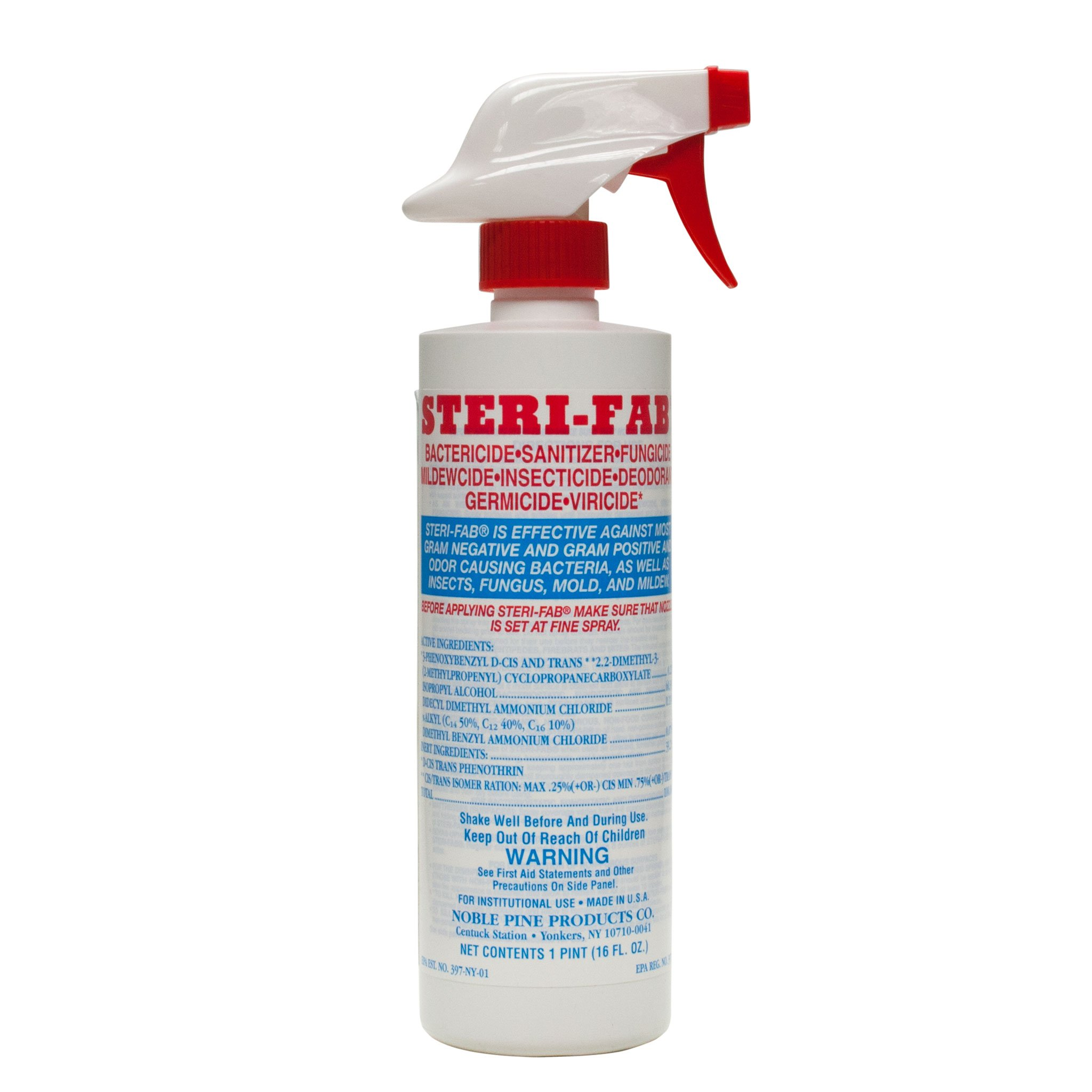 Steri Fab Bed Bugs Spray -16 Oz.-3 Bottles