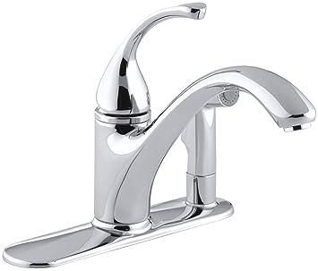 Kohler K 10413 Cp Forte Single Control Kitchen Sink Faucet Polished