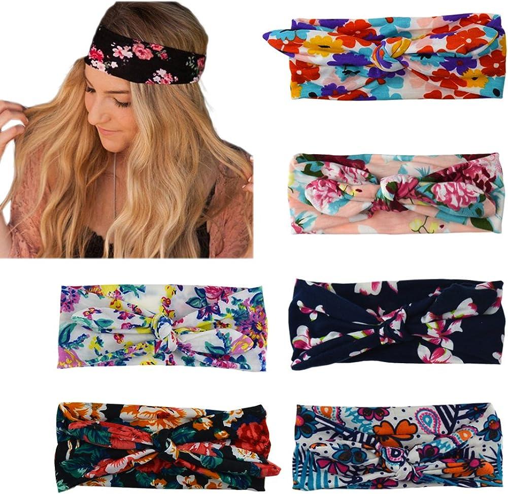 DRESHOW 6 Pack Headbands...