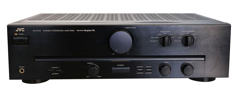 Jvc AX a (442 Amplificador estéreo en negro: Amazon.es ...