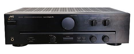 Jvc AX a (442 Amplificador estéreo en negro: Amazon.es: Electrónica