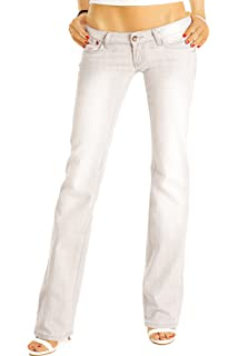 56cb58f3720b BestyledBerlin Jeans Taille Basse Style Low Rise Jeans pour Femme j37agrau